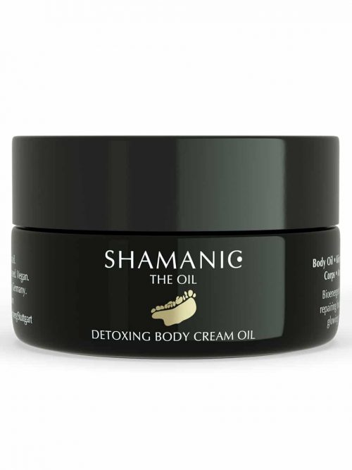 Detoxing Body Cream Oil Tiegel