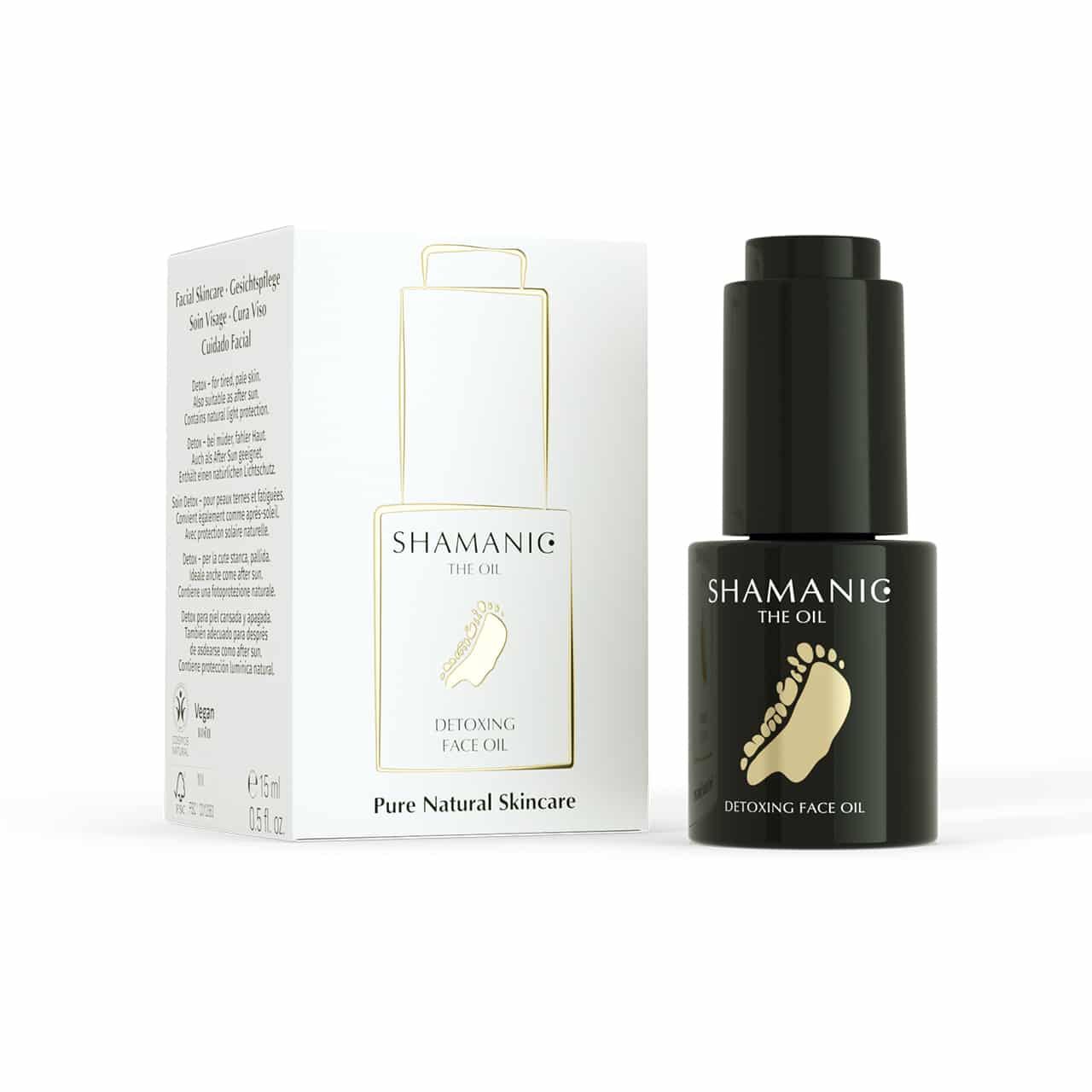 shamanic detoxing face oil