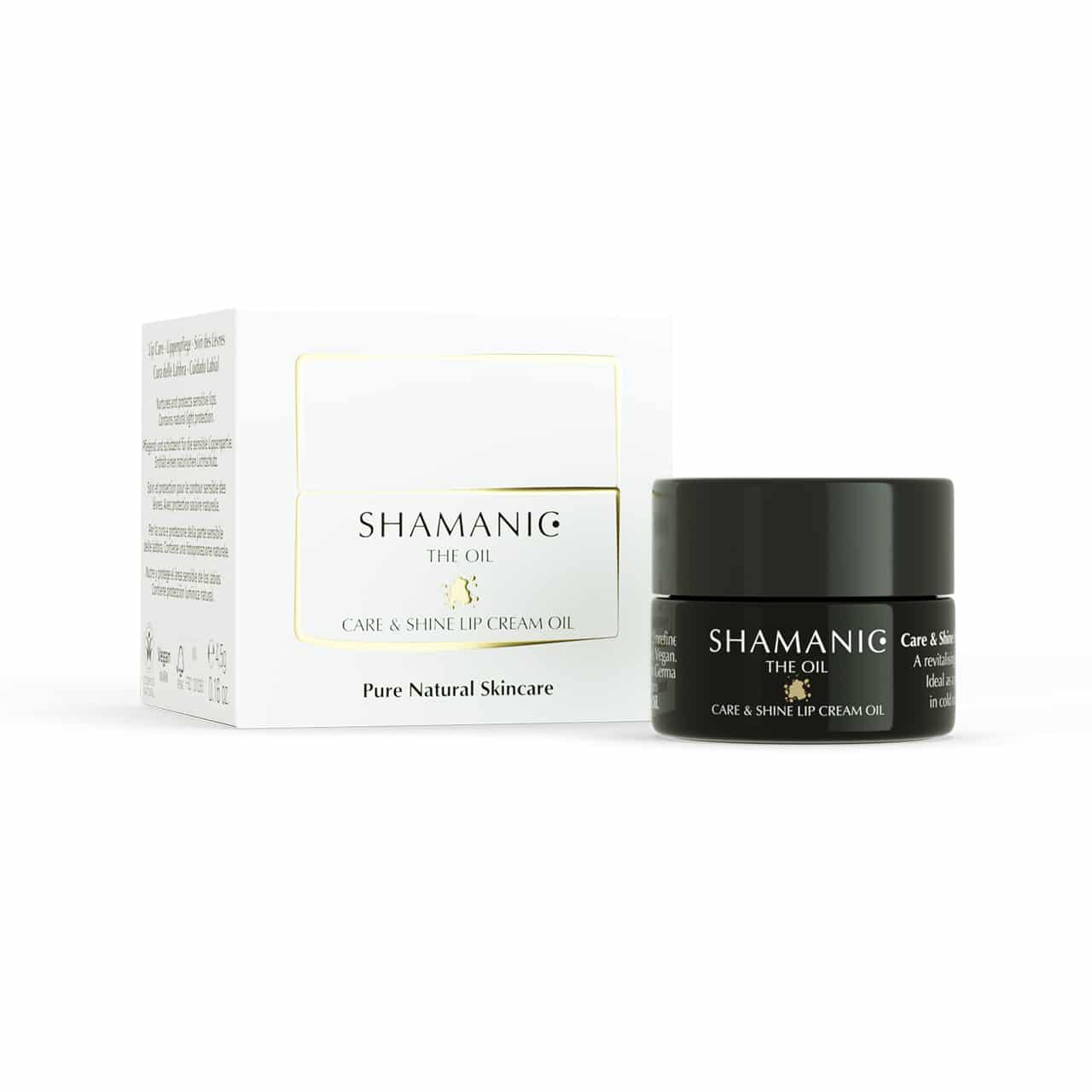shamanic care & shine lip cream oil