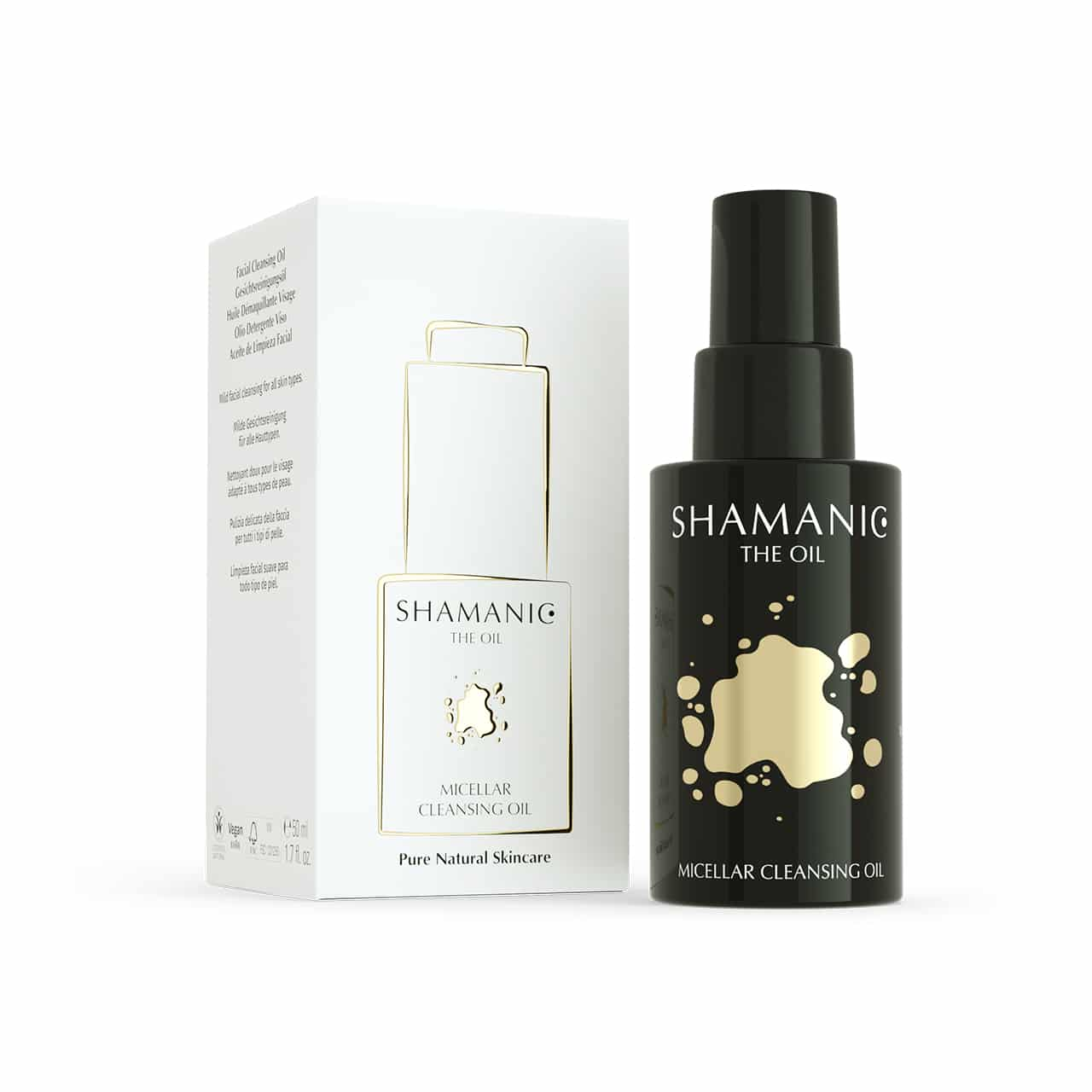 shamanic micellar cleansing oil
