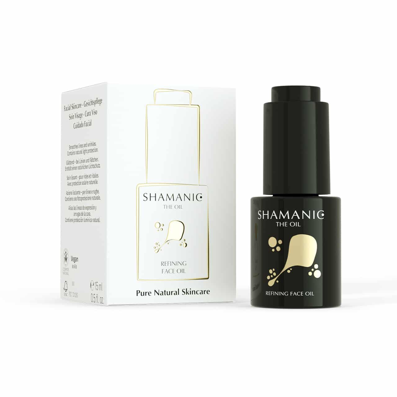 shamanic refining face oil