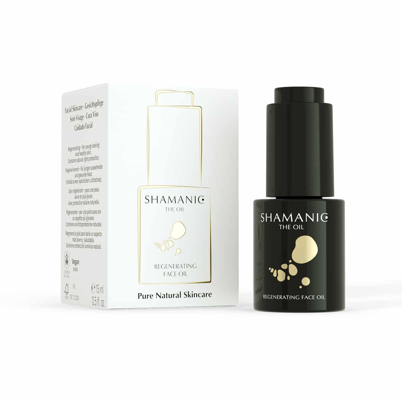 shamanic regenerating face oil