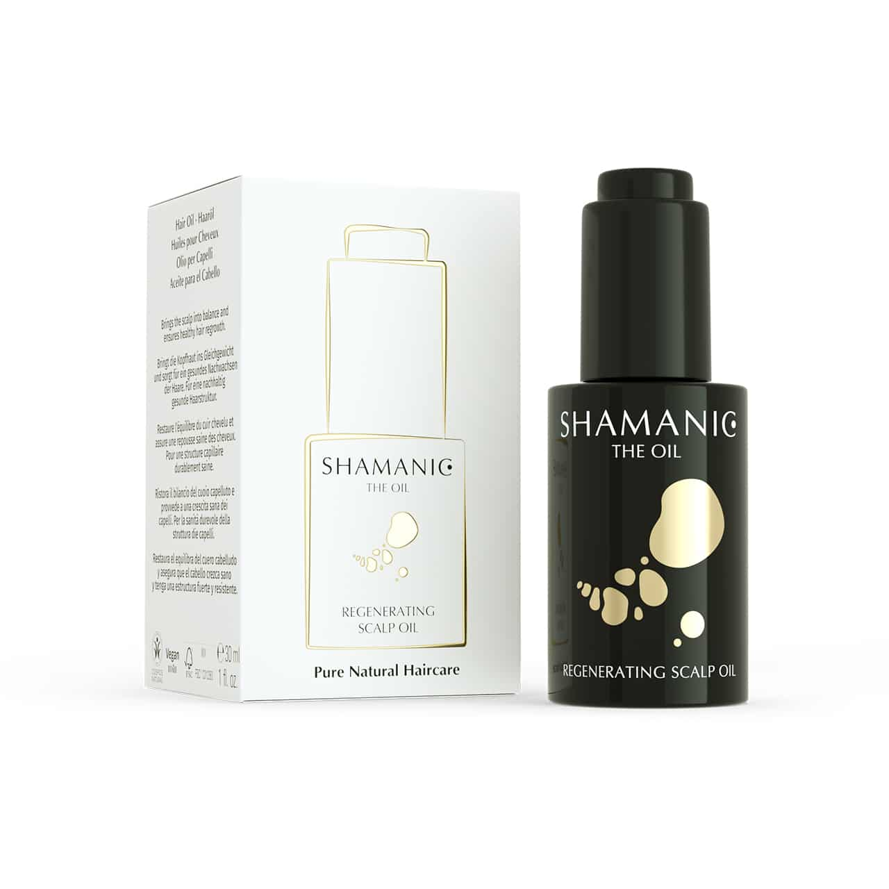 shamanic regenerating scalp oil